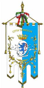 Comune di Brescia gonfalone